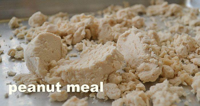 Peanut Meal An Unrefined Vegan