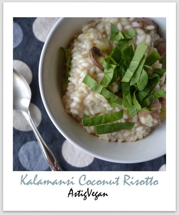 Kalamansi Coconut Risotto