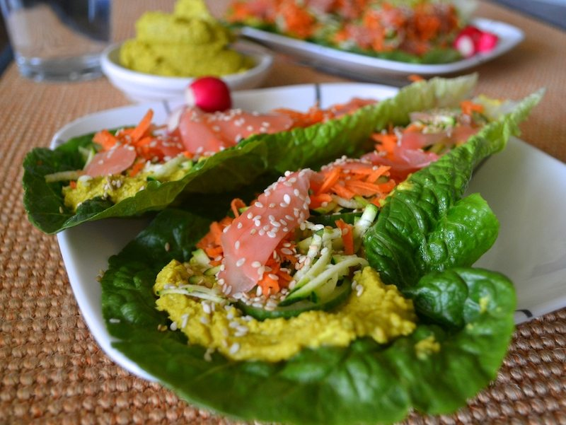 Vegan Coconut Curry Wraps by An Unrefined Vegan