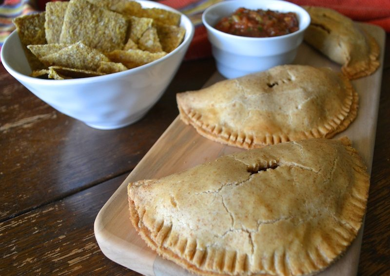 Vegan Pinto Bean Green Olive Turnovers by An Unrefined Vegan
