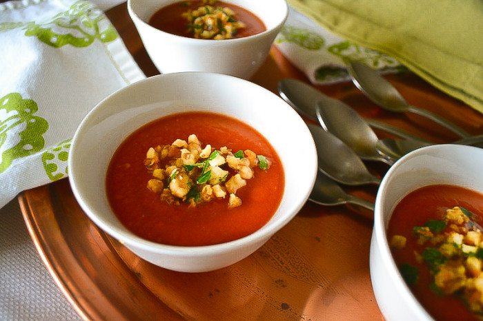 Creamy Tomato Soup An Unrefined Vegan
