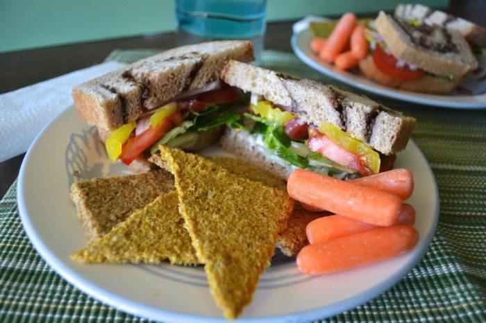 Fixin Sandwich An Unrefined Vegan