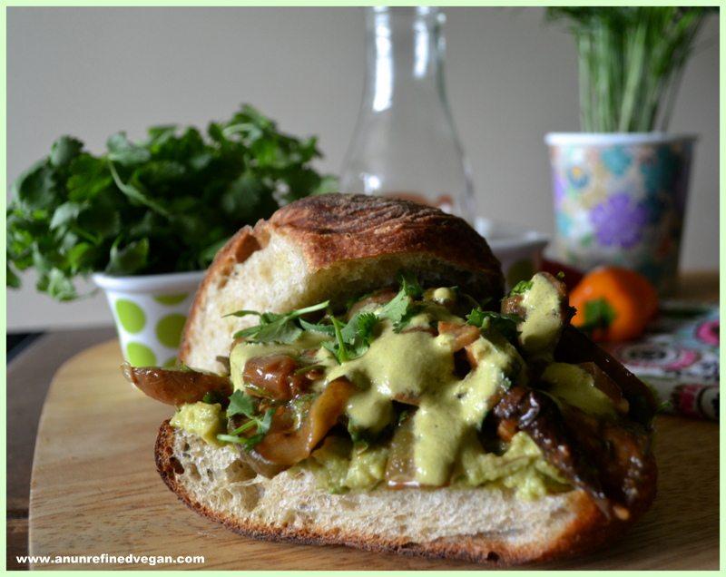 Roasted Veg Sandwich