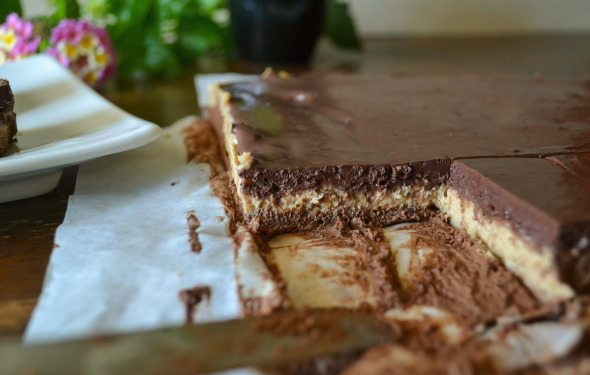 Chocolate PB Blueberry Fudge An Unrefined Vegan