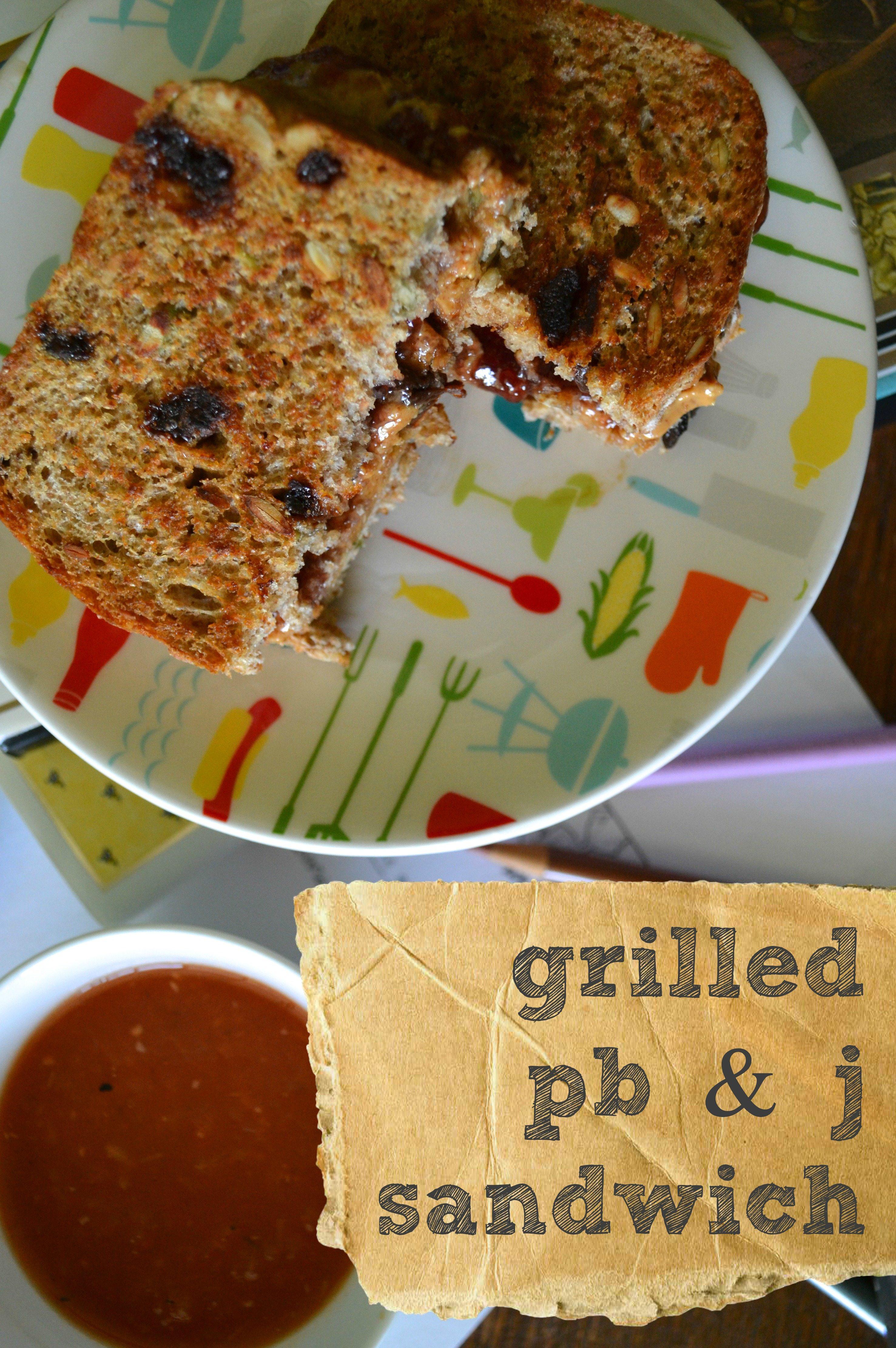 grilled pb & j