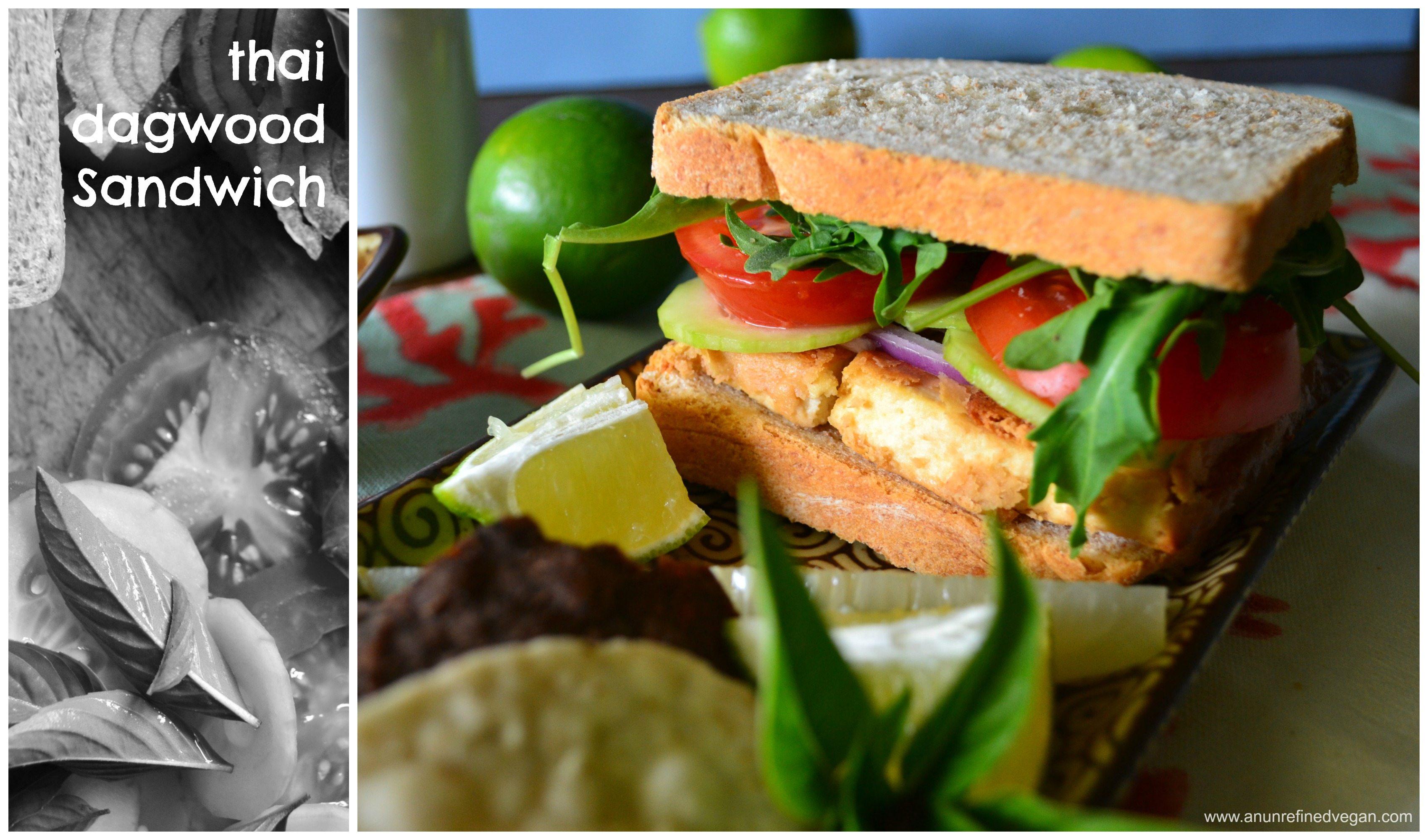 Thai Dagwood Sandwich