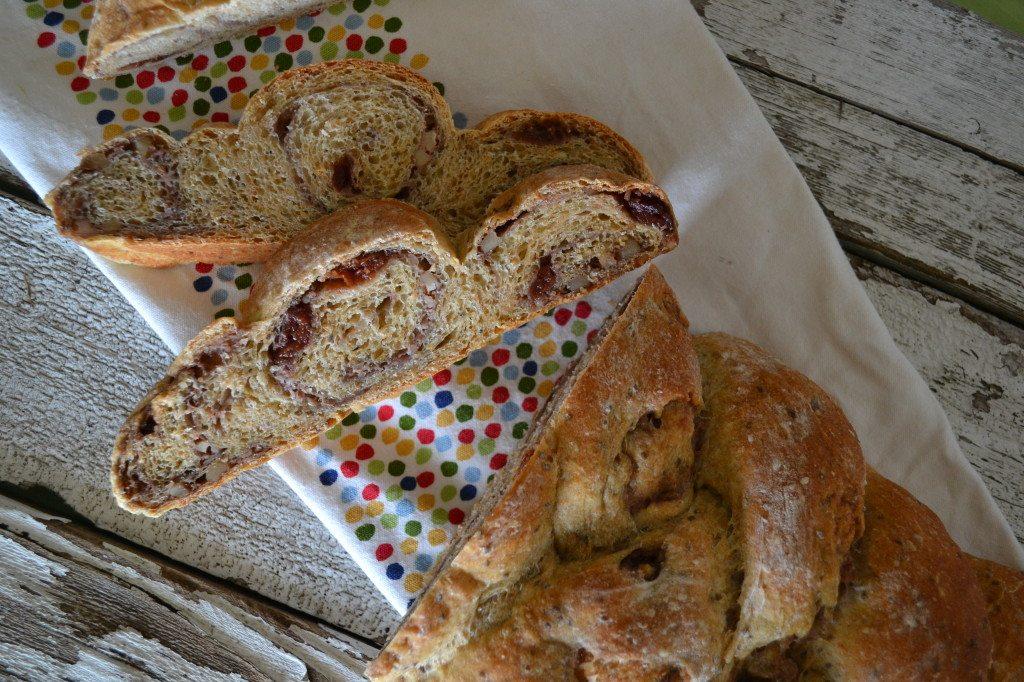 Cherry Orange Braid Bread by An Unrefined Vegan