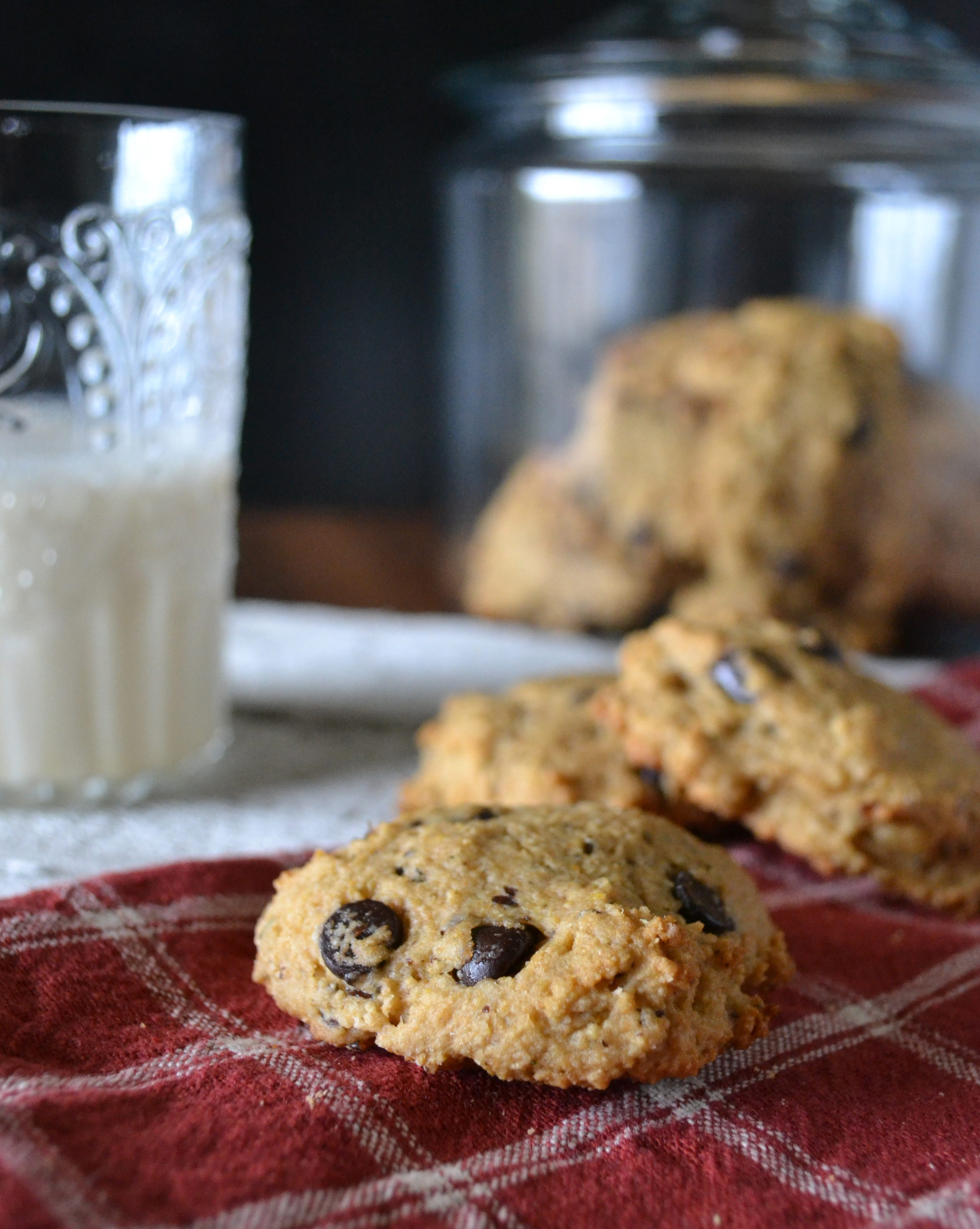 Grapefruit & Anise Chocolate Chip Cookies by An Unrefined Vegan