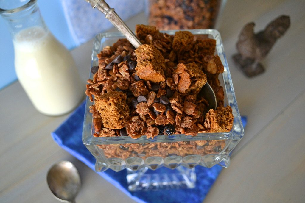 Chocolate Gingerbread Granola by An Unrefined Vegan
