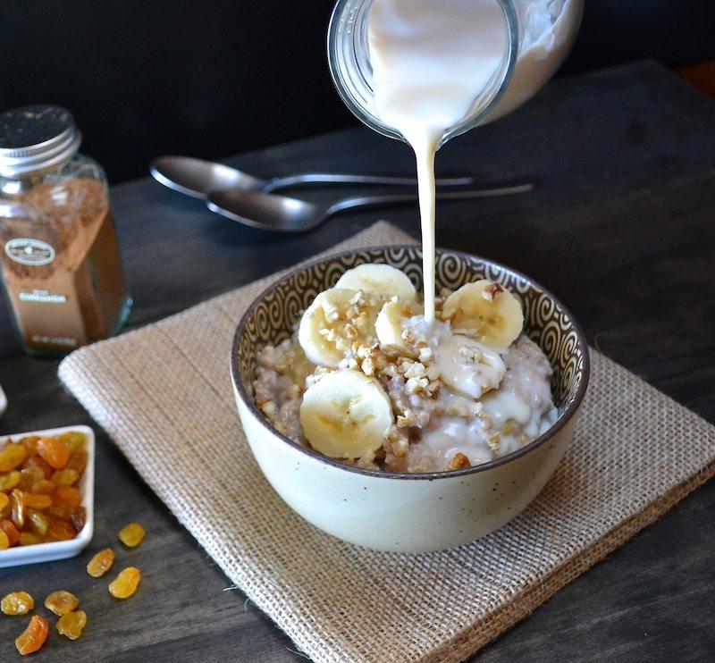 Slow Cooker Multigrain Pudding An Unrefined Vegan