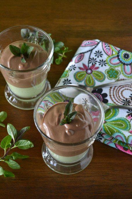 Mint Chocolate-Mint Pudding An Unrefined Vegan