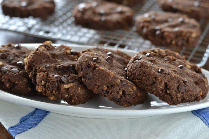 GF Chai Chocolate Chocolate Chip Cookies An Unrefined Vegan