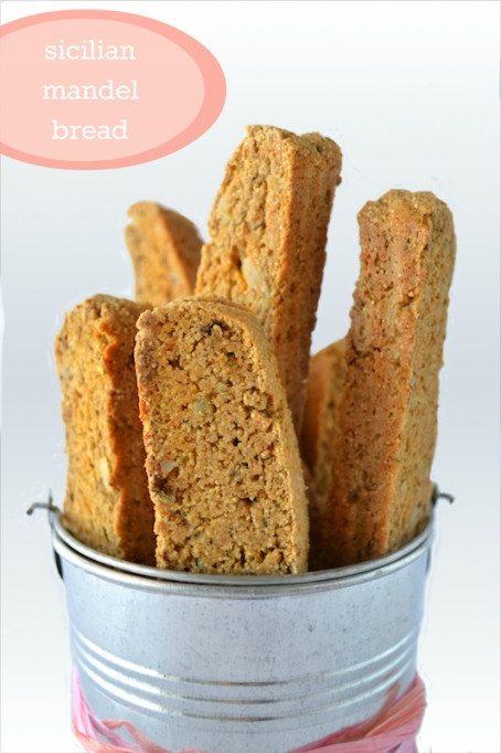 Sicilian Mandel Bread An Unrefined Vegan