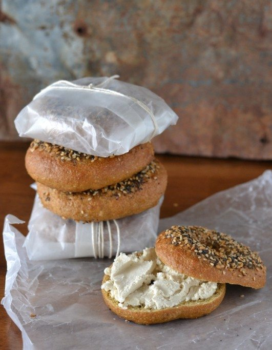 Pretzel Roll Bagels10 An Unrefined Vegan