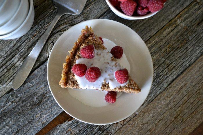 Chai Spiced Oat Pie An Unrefined Vegan