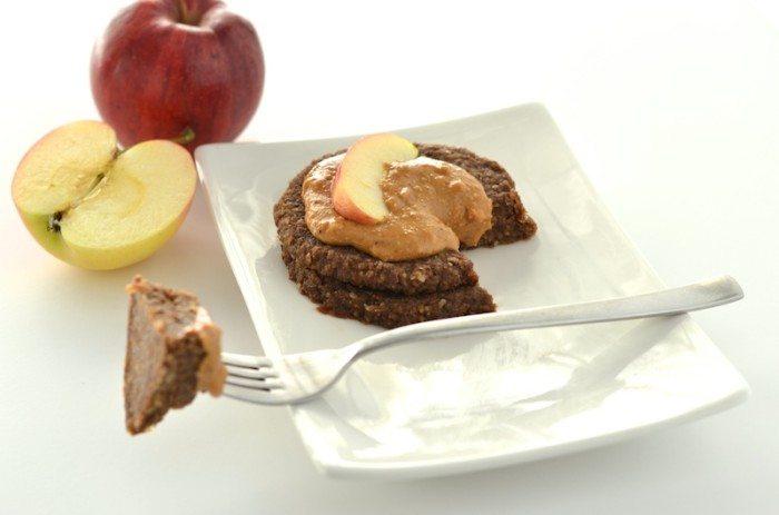 Raw Chocolate Caramel Apple Pancakes An Unrefined Vegan