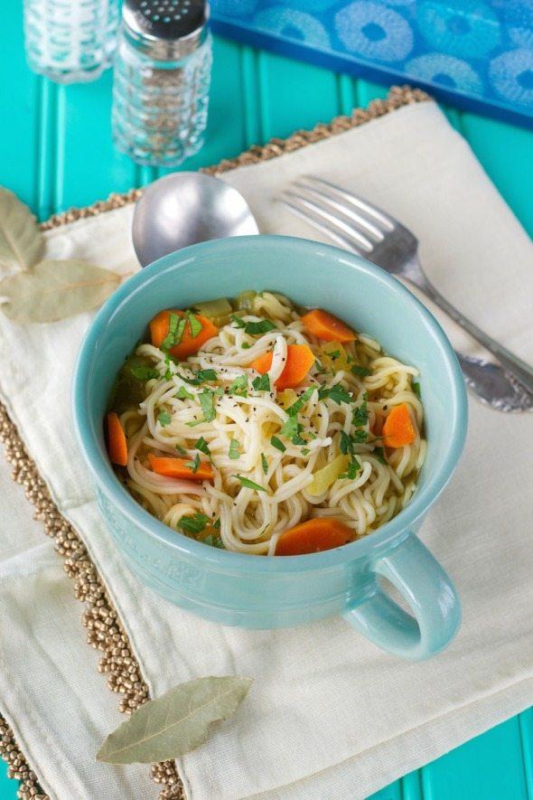 Comforting Noodle Soup An Unrefined Vegan