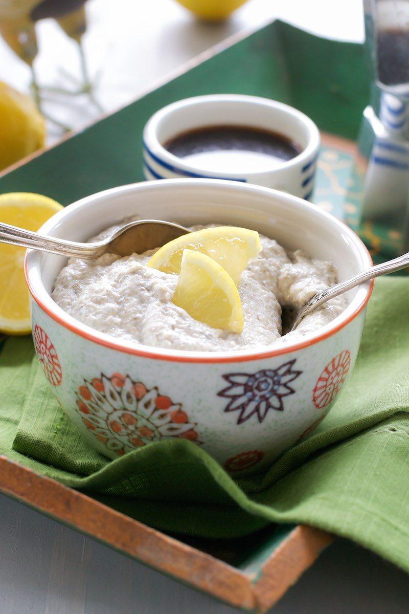 Lemon Meringue Chia Pudding An Unrefined Vegan