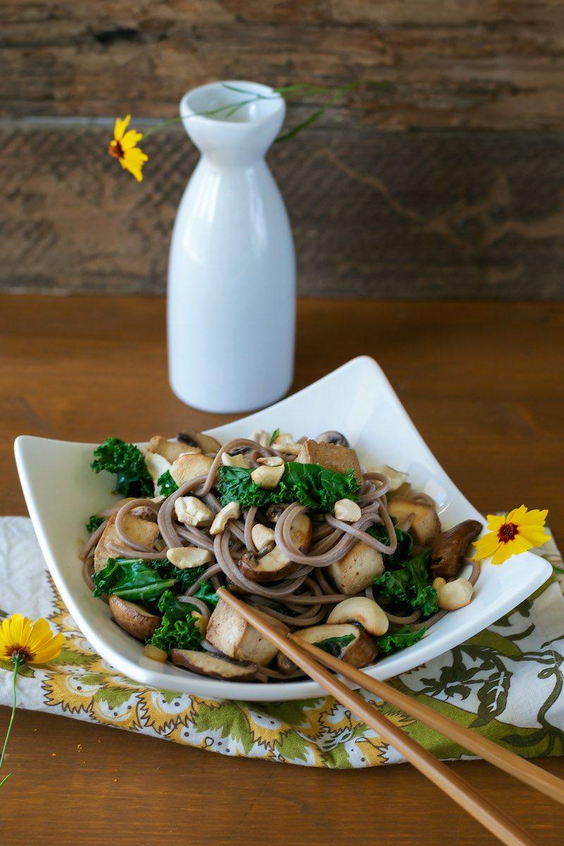 Asian Noodle Bowl An Unrefined Vegan