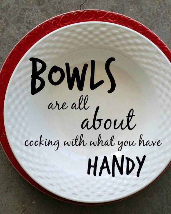 Bowls Are Handy An Unrefined Vegan