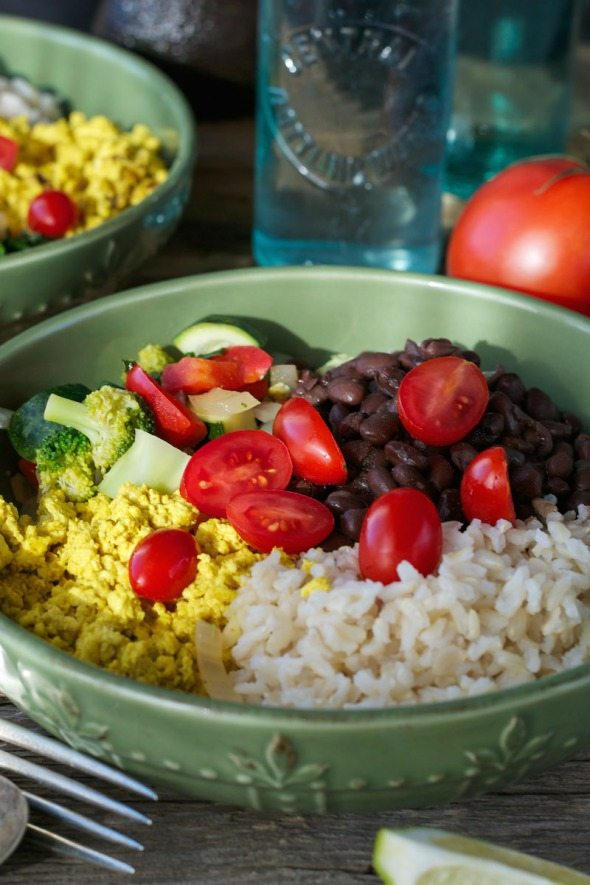 Tofu Ranchero Breakfast Bowls An Unrefined Vegan