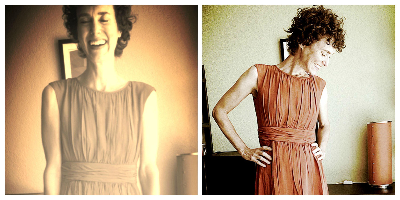 Annie in Orange Collage