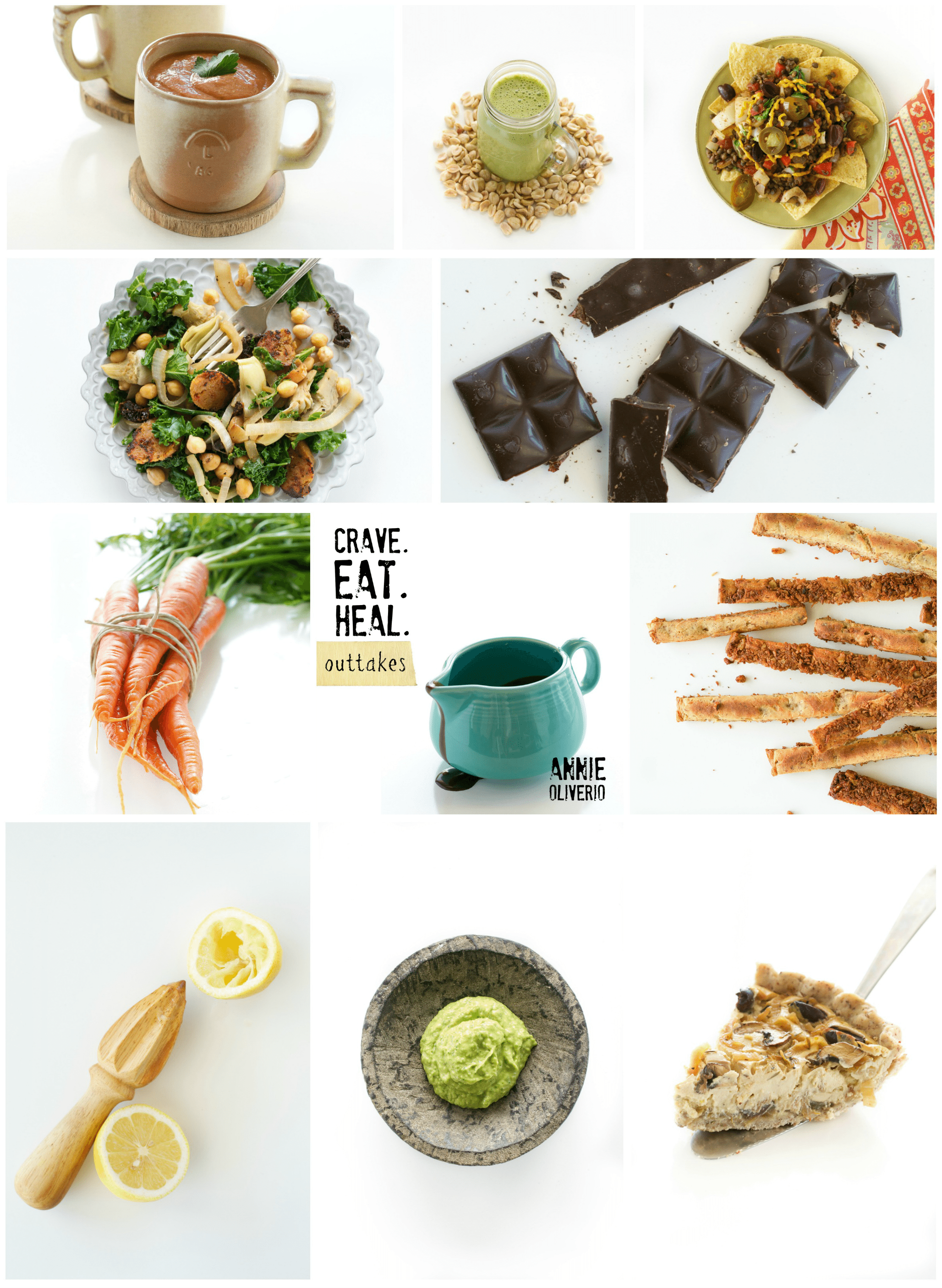 Crave Eat Heal Outtakes Collage