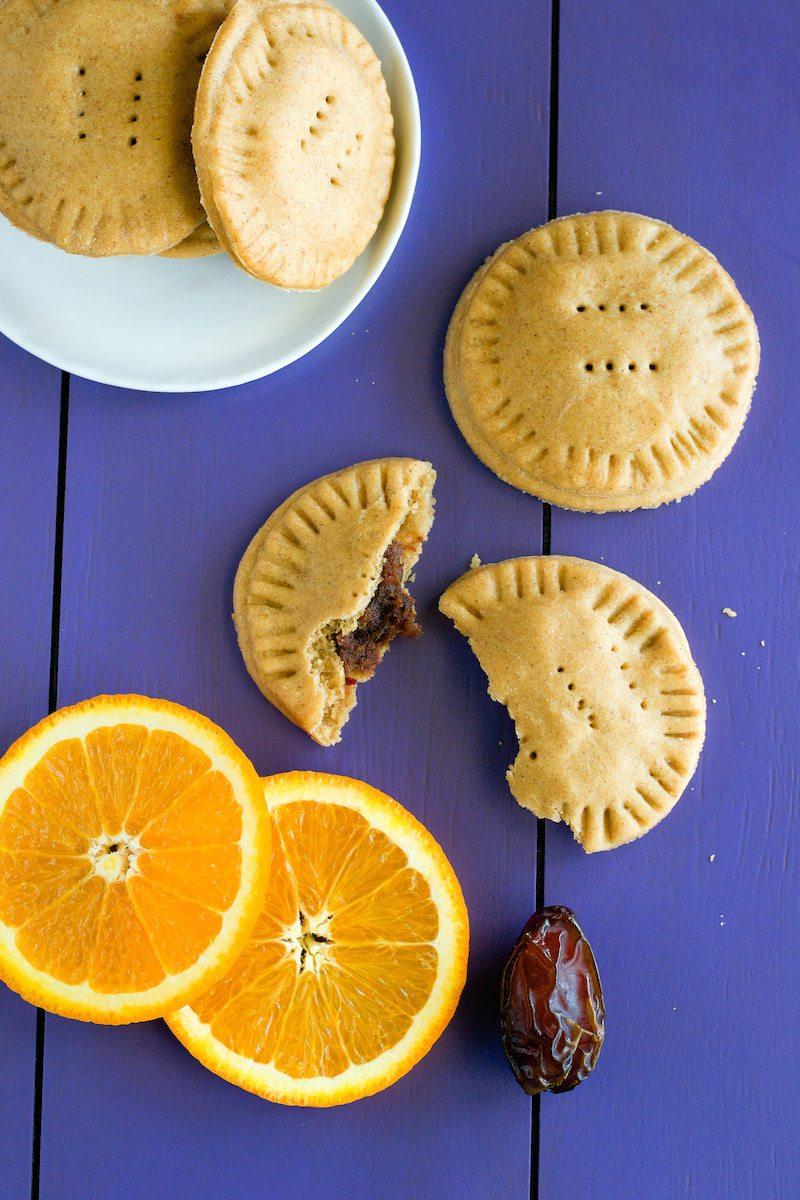 Vegan Maamoul Cookies from An Unrefined Vegan