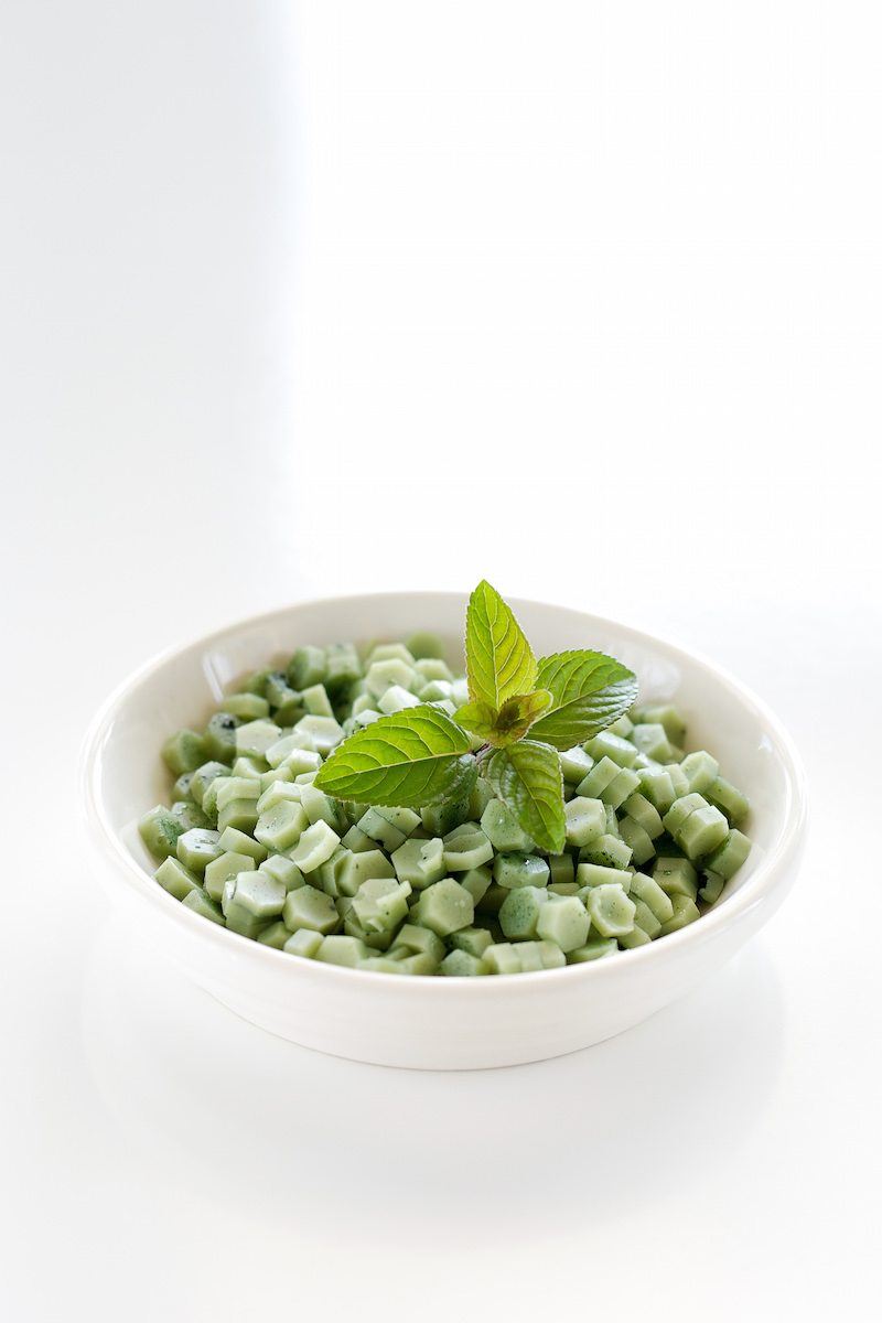 Vegan, Sugar-free Mint Baking Chips An Unrefined Vegan