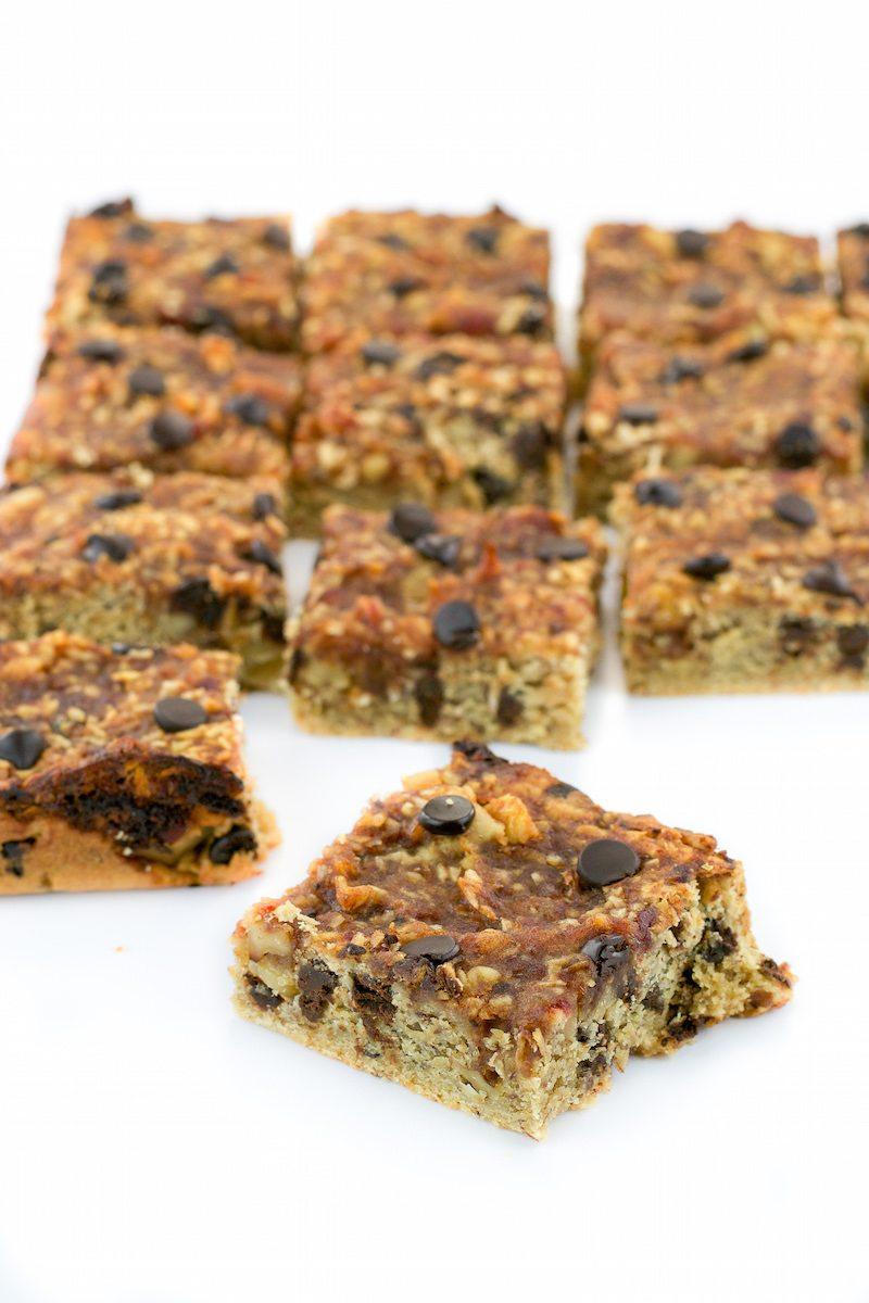 Vegan Date-Coconut-Walnut Shortbread Bars by An Unrefined Vegan
