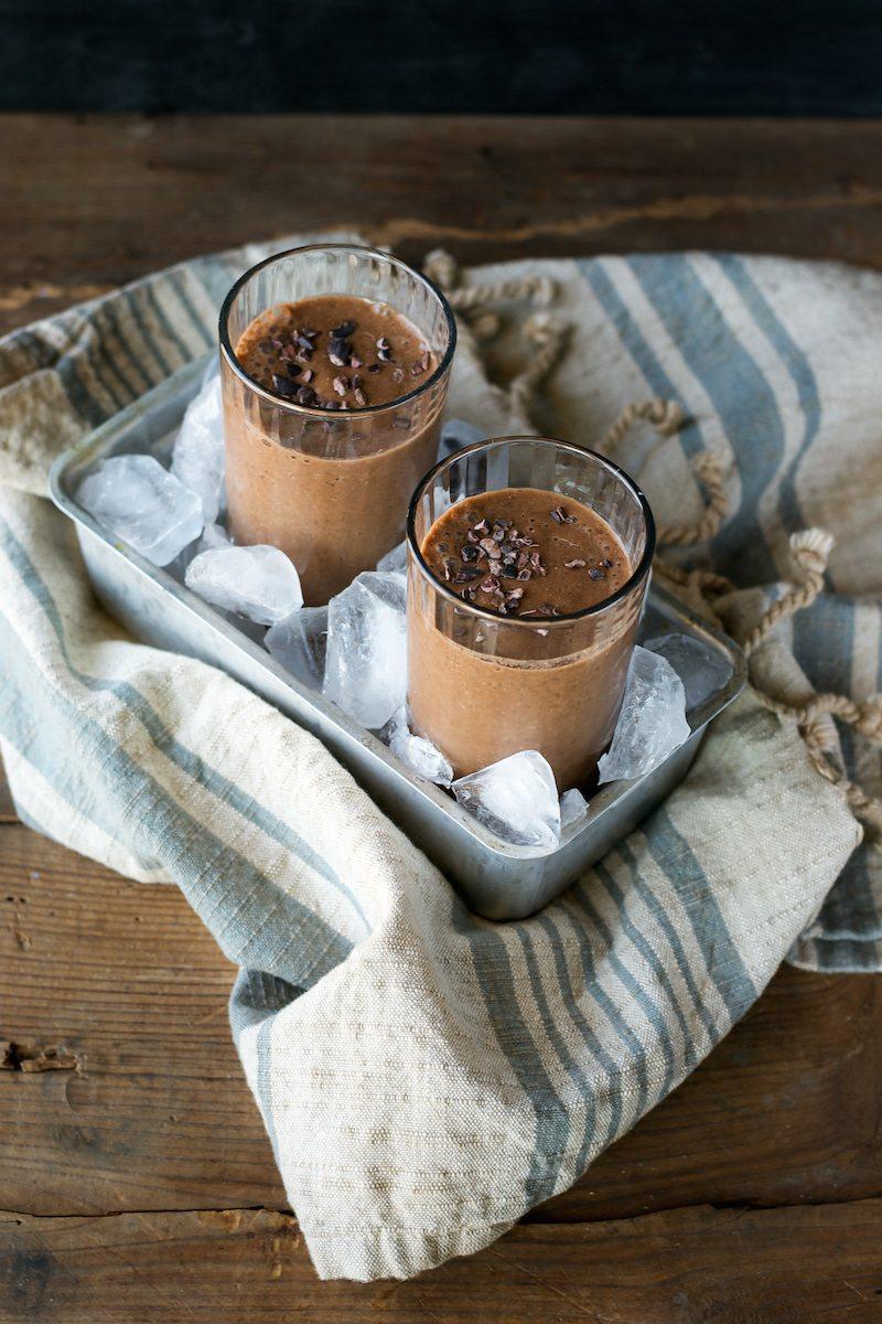 Sugar-free, Gluten-free Chocolate Earl Grey Shake by An Unrefined Vegan