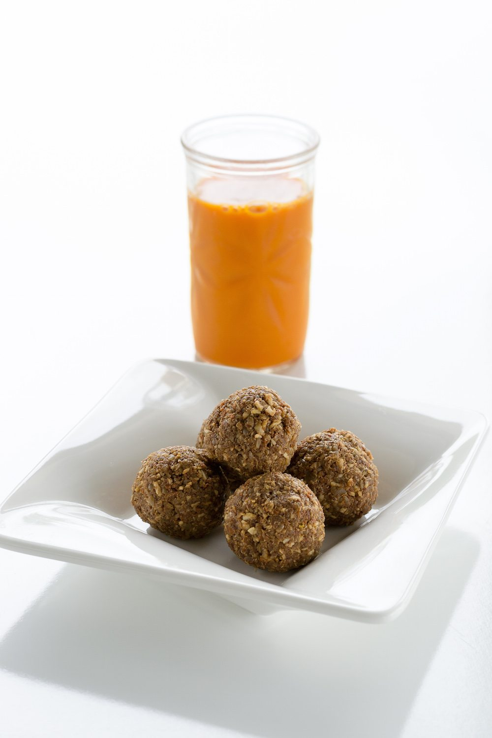 Carrot Cake Bites Photo by An Unrefined Vegan