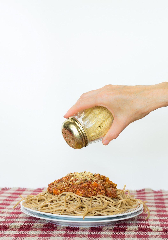 Vegan Parmesan Cheese Photo by An Unrefined Vegan