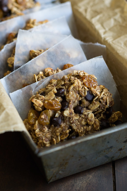 Vegan Chocolate Chip Oatmeal Cookies from Vegan-Ease