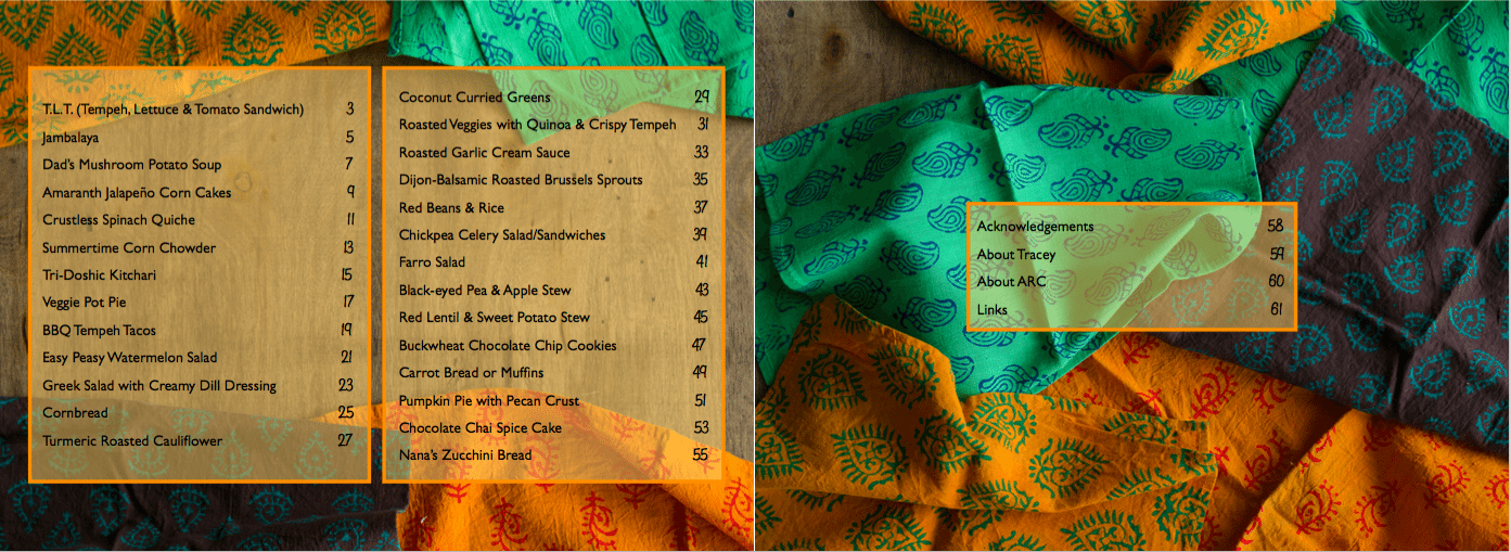 Table of Contents Page from Mobile to Mumbai