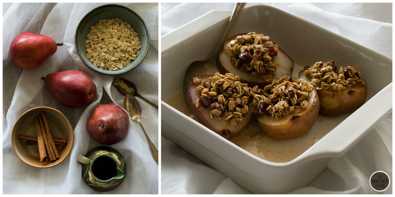 Simple Vegan Baked Pears by An Unrefined Vegan