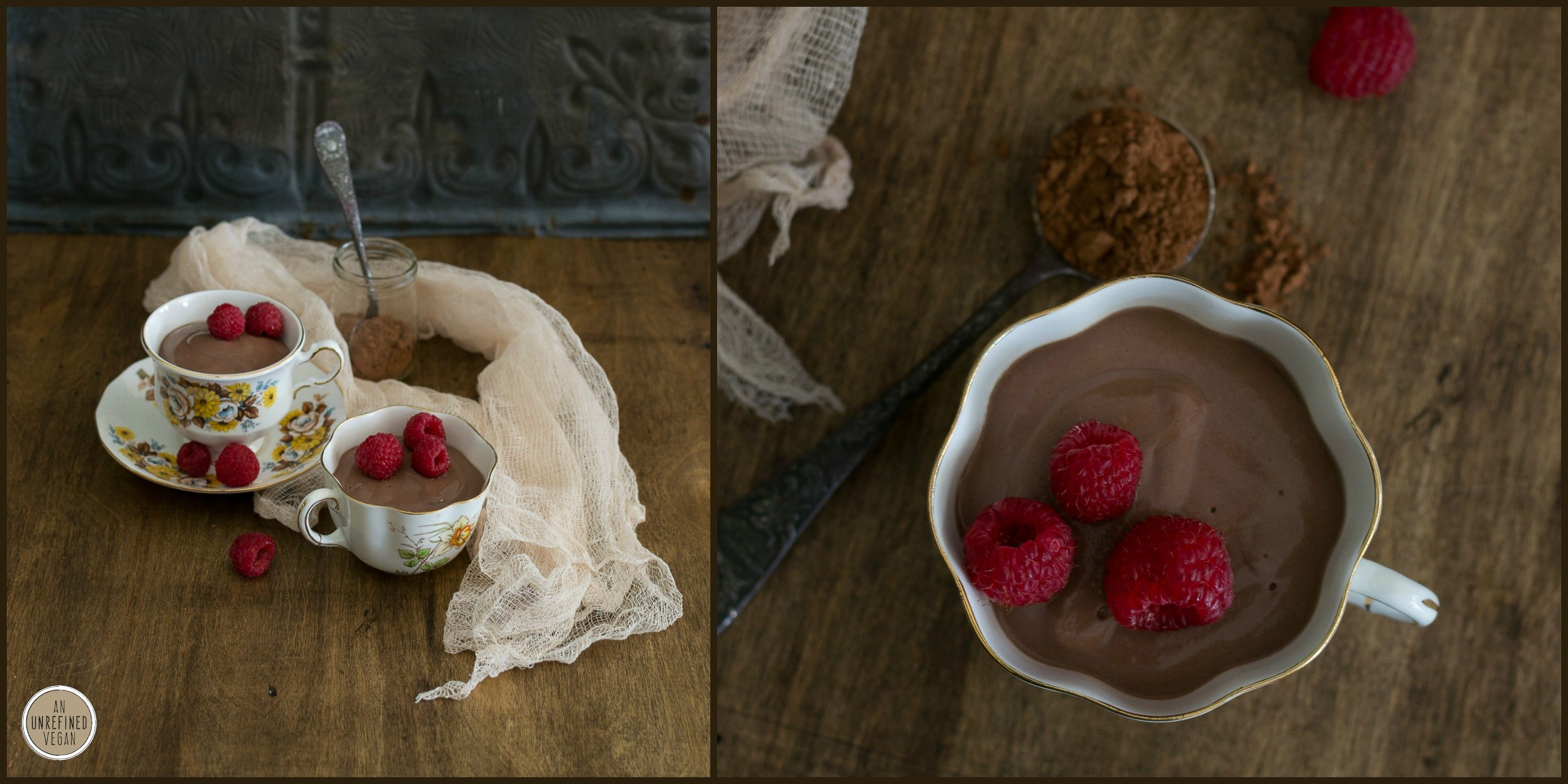 Nut-free Vegan Earl Grey Chocolate Pudding by An Unrefined Vegan