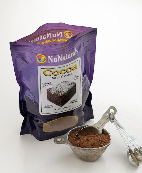NuNaturals Cocoa Dutch Process