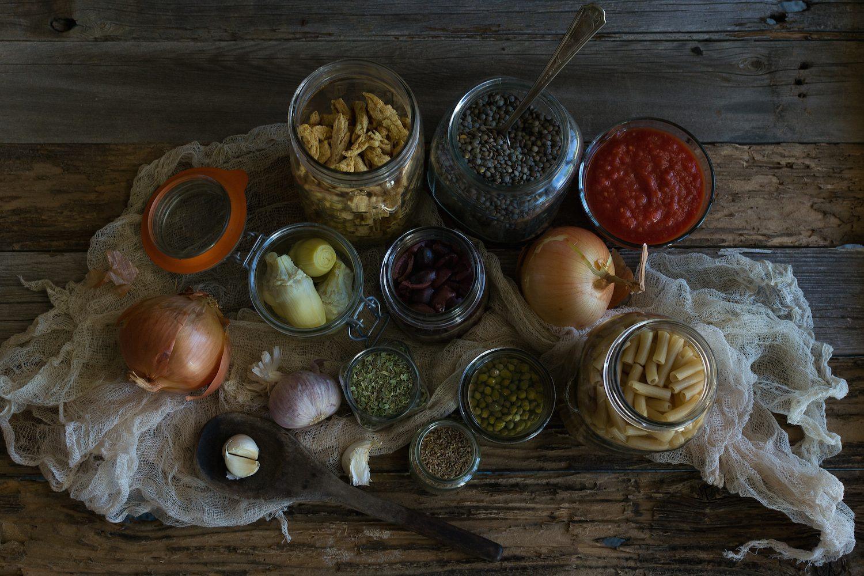 Arrabiata Ragu Pasta with Meatballs by An Unrefined Vegan