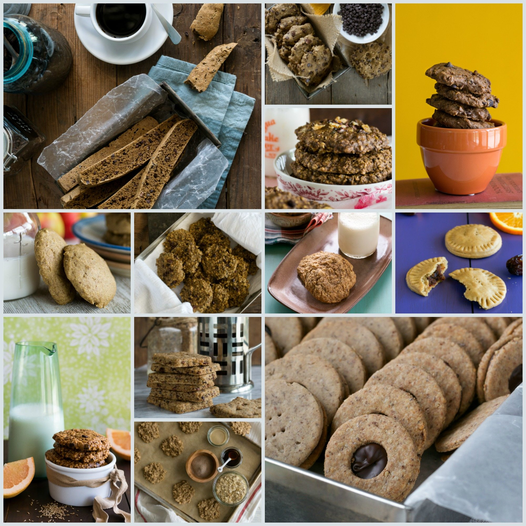 Vegan Christmas Cookie Round-Up by An Unrefined Vegan