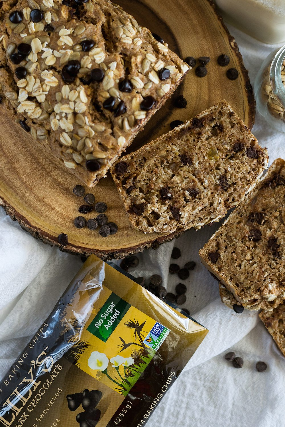 Chocolate Chip-Oatmeal Bread by Jazzy Vegetarian