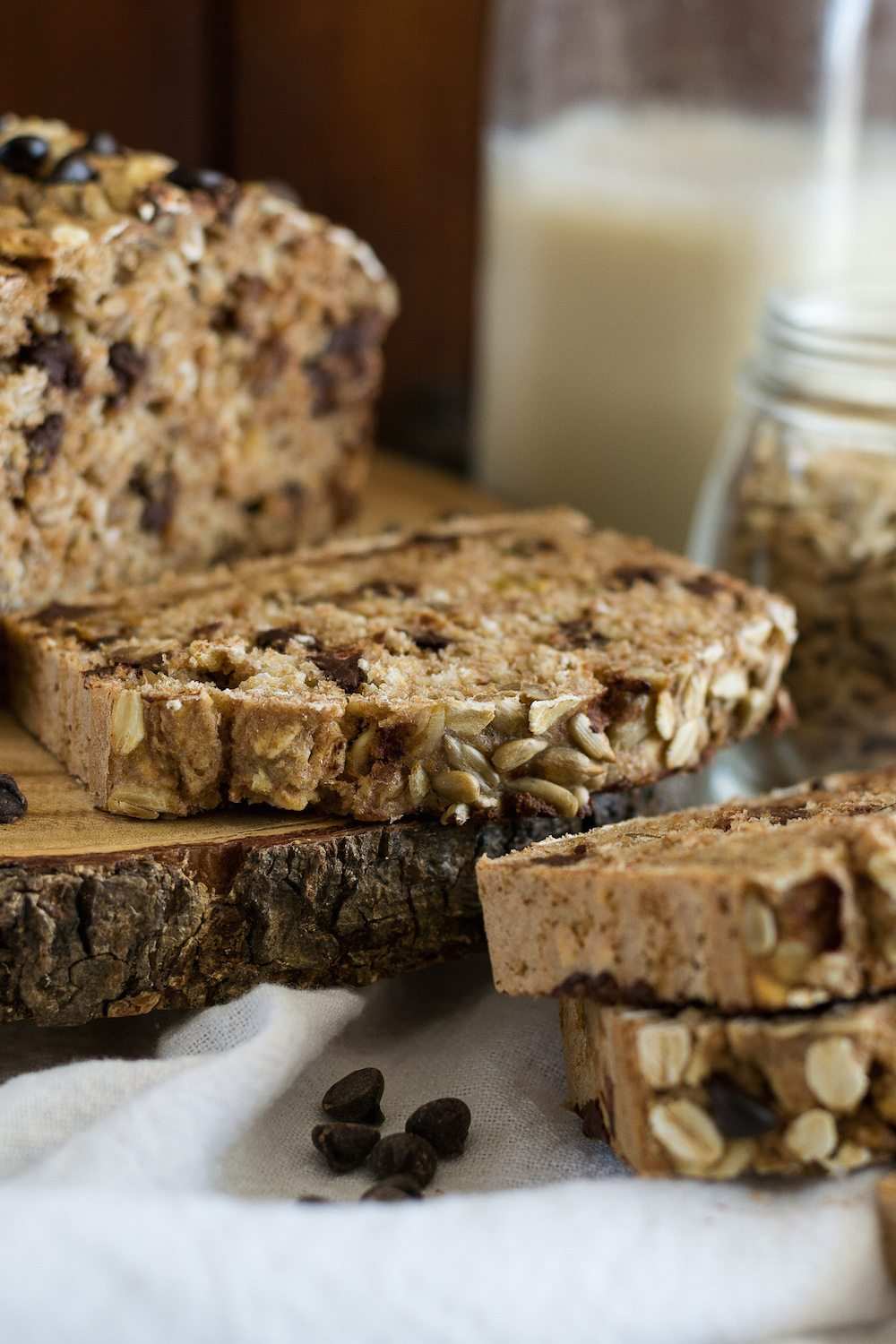 Chocolate Chip-Oat Bread by Jazzy Vegetarian