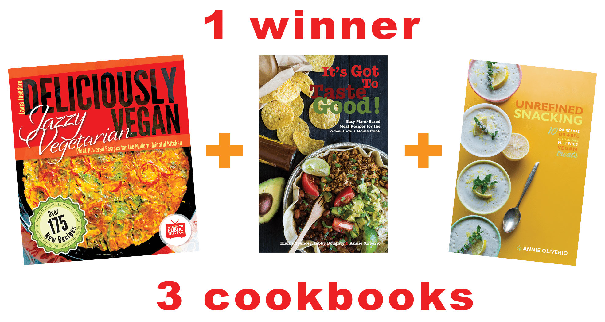 Cookbooks Giveaway An Unrefined Vegan